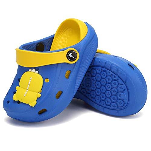 Scarpe da ginnastica per bambini con zoccoli, scarpe da ginnastica per bambini e ragazze, scarpe da ginnastica da giardino, per spiaggia e piscina, (Blu 4.), 22 EU