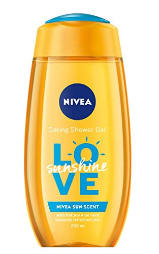 6er Pack - Nivea Women Duschgel - Love Sunshine - 250ml
