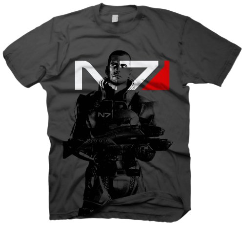 Mass Effect 2 T-Shirt X-Ray Shepard, Größe S