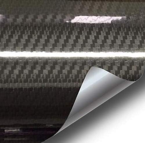 VVIVID Epoxy High Gloss Regular dealer Gorgeous Black Wrap Film Vinyl Carbon Automotive