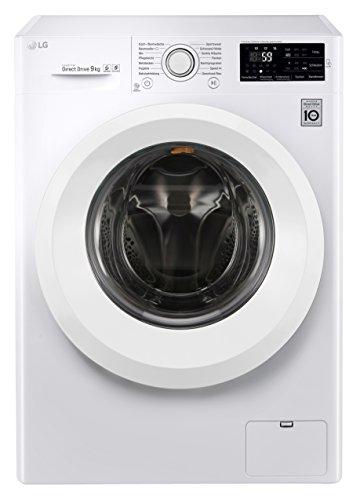 LG Electronics F 14U2 V9KG Waschvollautomat / A+++ / 9kg / 1400 UpM / Digitales Touchdisplay mit Restzeitanzeige und Startzeitvorwahl