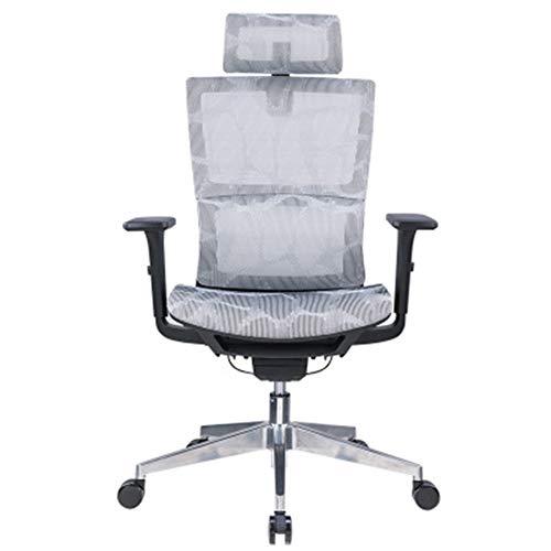Silla giratoria para computadora de oficina, sillón reclinable para silla giratoria, cuero,Silla ergonómica, silla elevadora para computadora, silla para jefe de hogar, cómoda silla de oficina de r