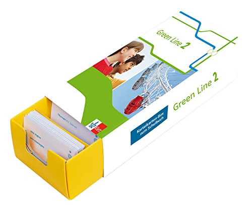 Klett Green Line 2 G8 Klasse 6 - Vokabel-Lernbox zum Schulbuch: Englisch passend zum Lehrwerk üben: Karteikarten-Box zum Schulbuch