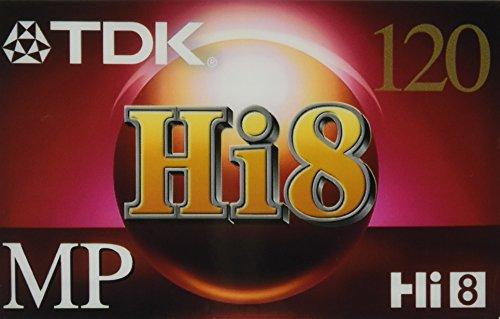 TDK Premium Hi8 (4 Pack) Video Cassettes