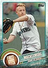 2015 Topps First Pitch #FP-12 Macklemore Baseball Card - Ben Haggerty - Rapper - Seattle Mariners