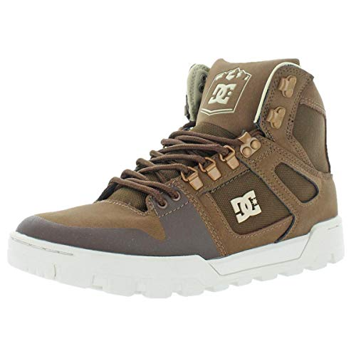 DC Shoes Pure High-Top WR Boot, Botas para Nieve Hombre, marrón, 38.5 EU