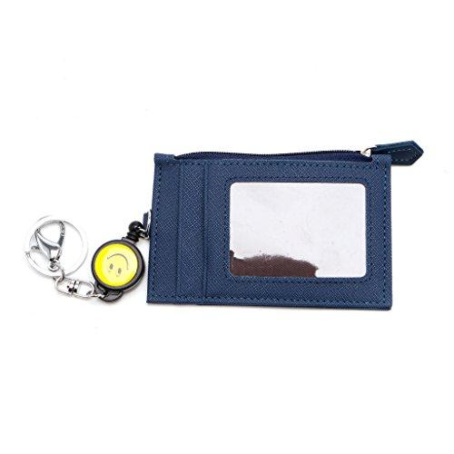 SimpleLife ID Badge Holders, Business Credit ID Badge Portatarjetas Monedero Carrete retráctil Llavero Regalo para Madres, Maestros, visitas, Negocios