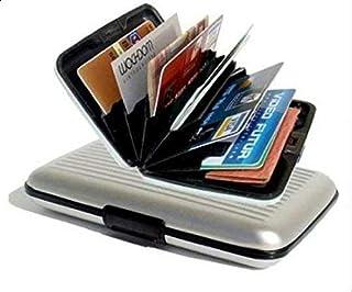 محفظة من الألومنيوم لحمل بطاقات الائتمان من ألوما، أبيض