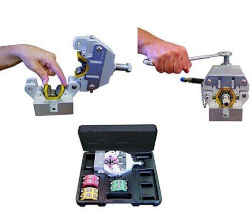 Gowe Kit tuyau à sertir/presse hydraulique Tuyau flexible Pince à sertir/Manuel A/C Pince à sertir Kit/71550 Douchette Flexible Pince à sertir