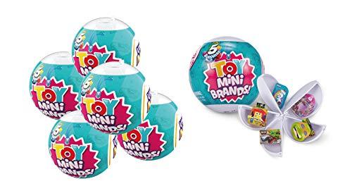 ZURU 5 SURPRISE-77126 Toy Mini Brands Cápsulas coleccionables (Paquete de 5) (77126)