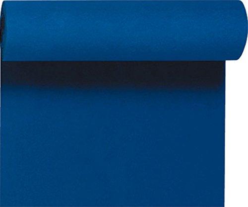 Duni Dunicel tafelloper 3 in 1, alle 40 cm geperforeerd, Uni donkerblauw, 40 cm x 4,8 m