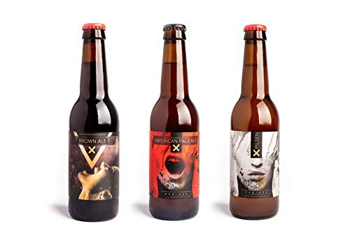 Cerveza Rabiosa Pack Mixto (2Ud Pilsen+2Udbrowl Ale + 2Udapa) - 330 ml