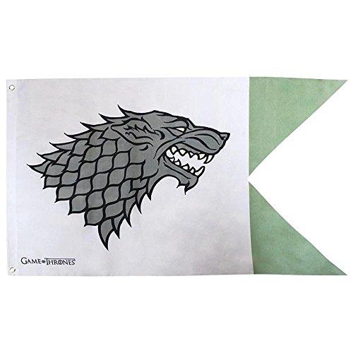 yvolve Game of Thrones - Stark - Flagge - 70 x 120 cm | Originales Merchandise