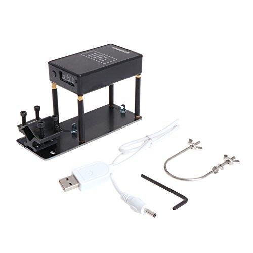 Exing Geschwindigkeitstester,Gun Speed Tester Messgerät für Geschwindigkeitsmessung 16-37mm Mündungsgeschwindigkeitsmesser