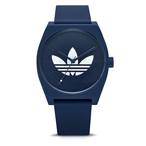 Adidas Herren Analog Quarz Uhr mit Silikon Armband Z10-3263-00