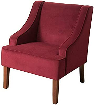 Hebel Swoop Arm Solid Accent Chair | Model CCNTCHR - 95 |
