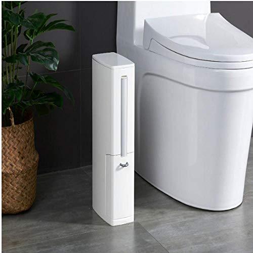 Toiletborstel Vuilnisbakborstel uit één stuk Badkamer Sandwich Badkamer Vuilnisbak Reinigingsborstel