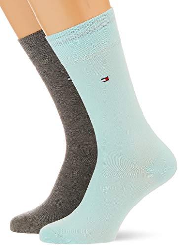 Tommy Hilfiger Herren Classic Socken, Mint Combo, 43/46