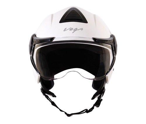 Vega Verve Open Face Helmet (Women's, White, M)