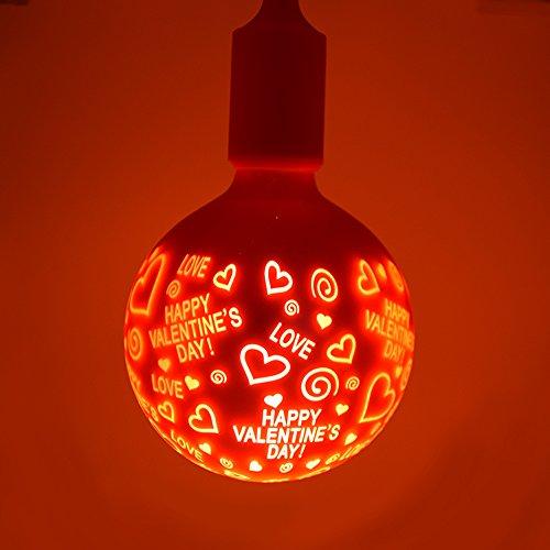 Nouveau Moderne LED Ampoule Globe Décorative Lampe d'ambiance Luminaire Suspension Belles Motifs Lumière Douille E27 1.4W 120-220V