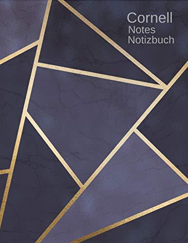 Cornell Notes Notizbuch: Cornell-Methode Journal zum einschreiben