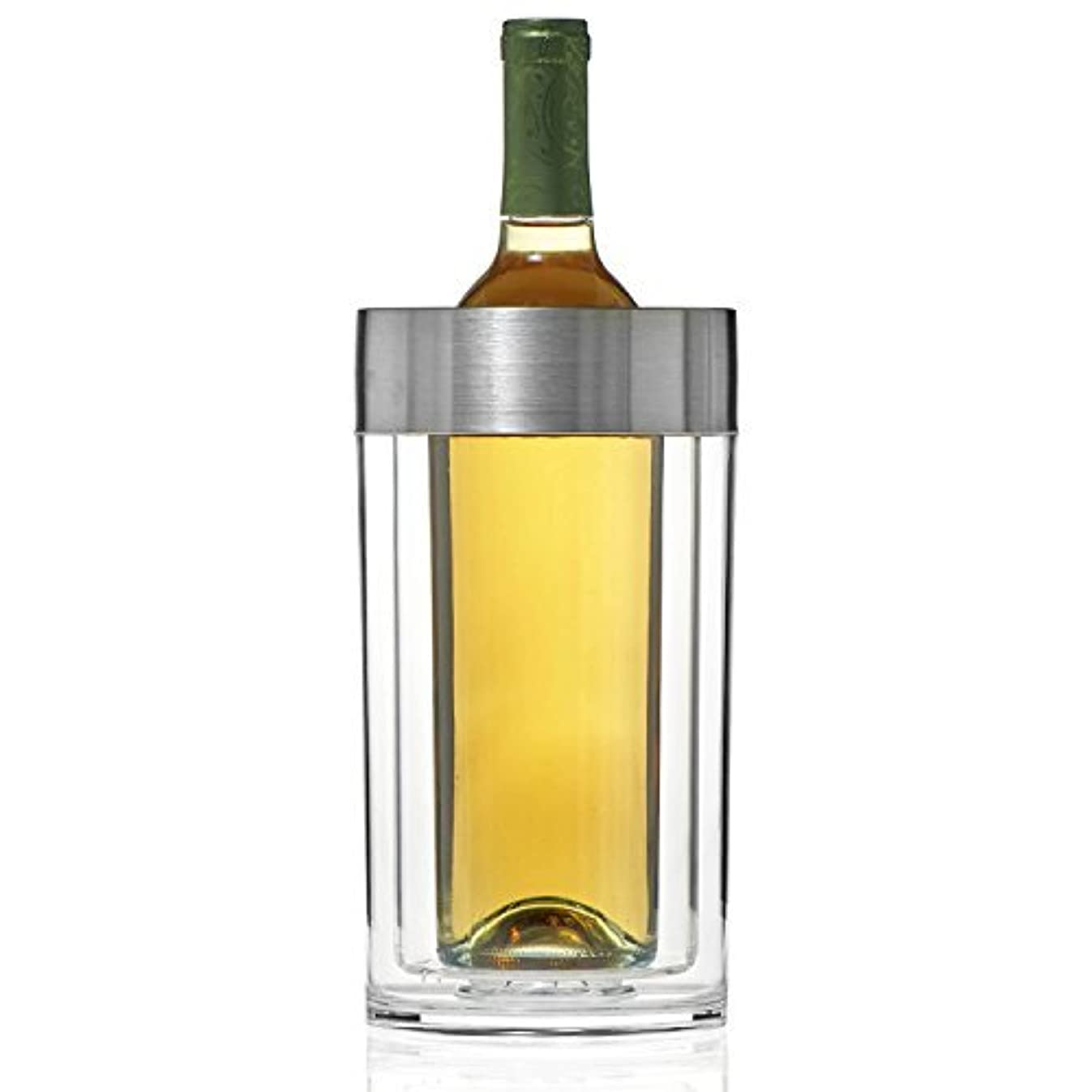 Wine Enthusiast Double Walled Iceless Wine Bottle Chiller