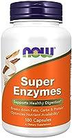 Now Foods   Super Enzyme   180 kapslar   glutenfri   sojafrei