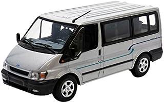 Minichamps ford003 – Ford Transit autobús Euroline – 2001 (Escala 1/43 – Plata