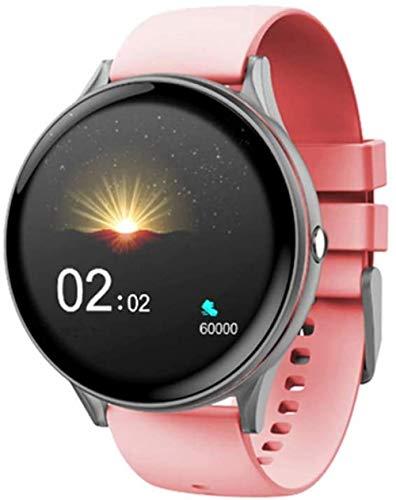 Reloj inteligente con pantalla táctil IP67, impermeable, monitor de sueño, compatible con Android e iOS, teléfono B