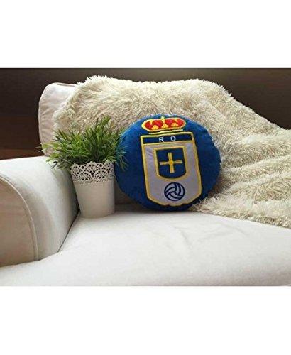 R.OVIEDO Real Oviedo COJIN - Azul, 032x032 cm.