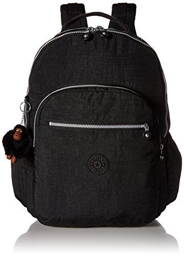 Kipling Women's Seoul GO XL Black Laptop Backpack, One Size
