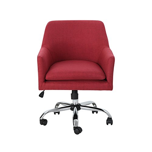 Christopher Knight Home Morgan Home Office Chair, Red