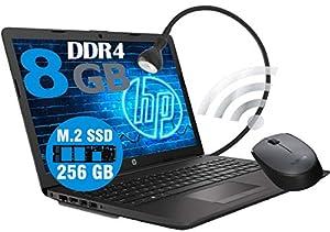 "Notebook Pc Portatile HP 255 G7 Display 15.6""/Cpu Amd 3020e 2,8GHz /Ram 8Gb ddr4 /SSD M2 256GB /Vga Radeon R3 / Hdmi / Masterizzatore Wifi Bluetooth /Licenza Windows 10 MOUSE WIFI LAMPADA"
