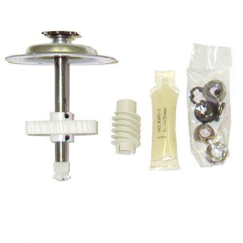 Kit de engrenagem e roda Liftmaster 41c4220a para Chamberlain, Sears, Craftsman e LiftMaster 1/3 e 1/2 HP modelos de unidade de corrente, Full Size, Metal/Galv