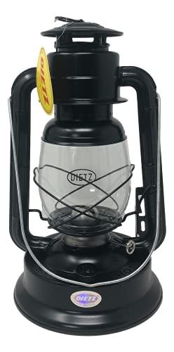 Light of Mine | Dietz #90 D-Lite Oil Burning Lantern Black Plain Kerosene Oil Lamp Camping Lantern with Wick