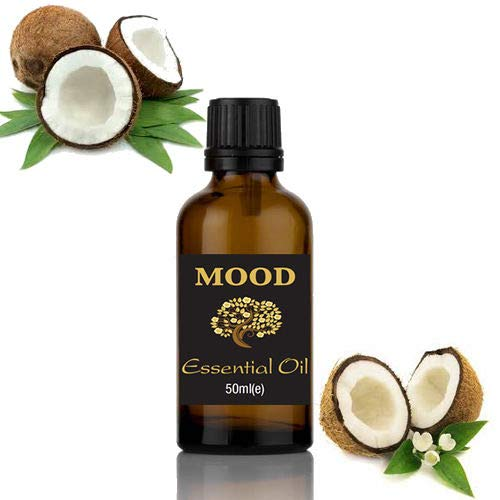Difusor de aceites esenciales de aromaterapia natural con fragancia de coco, 50 ml