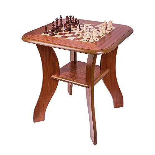 Square - Schachtisch 920 M - Schachfiguren & Schachbrett aus Holz