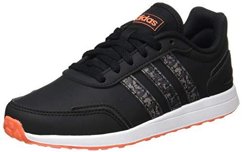 adidas VS Switch 3 Sneaker, Core Black/Grey/True Orange, 38 2/3 EU