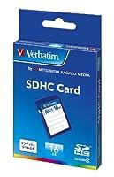 三菱ケミカルメディア Verbatim SDHCカード 16GB Class4 SDHC16GYVB1