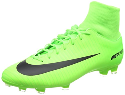 Nike Mercurial Victory Vi Df Fg Botas de fútbol Hombre, Verde (Electric Green/flash Lime/white/black), 38.5 EU(6 US)