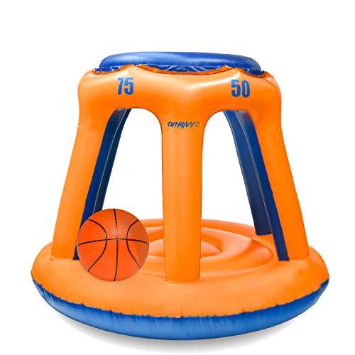 Chnaivy Pool Basketballkorb Perfektes Indoor Outdoor Schwimmen Basketballkorbset Bester Wassersport Wettbewerbsfähiges Wasserspiel mit zwei Bällen für Kinder und Erwachsene