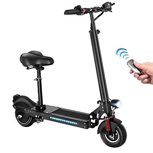 LLPDD Elektrische step, 8 inch, opvouwbare kick-e-step met display, 35 km/u Li-ion accu, E-scooter voor volwassenen en tieners