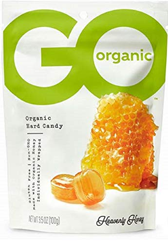 GoNaturally Organic Hard Candies Honey 1 x 35 OZ 2 Pack