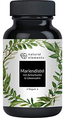 natural elements Mariendistel Artischocke Bild