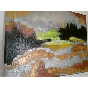 """""""Bernstein"""",abstrakt,Acryl auf Leinwand*handgemalt*,Original,30x40cm"""