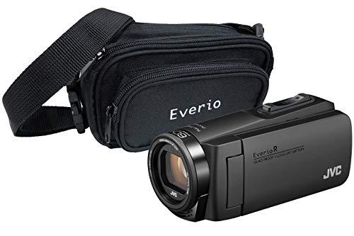 JVC GZ-R495 Black 4GB Memory HD Quad Proof Camcorder inc Everio Case