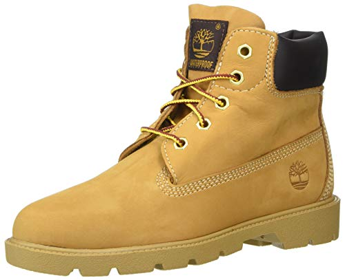 Timberland Unisex 6 in Classic Boot Ankle, Wheat, 7 Medium US Big Kid