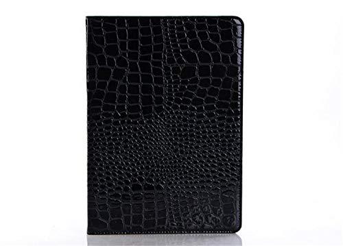 SUNMINGY Stand Crocodile Grain Flip Leather Case Cover For Ipad Tablet Fundas Cases For Ipad 4 Ipad 3 Ipad 2-Black