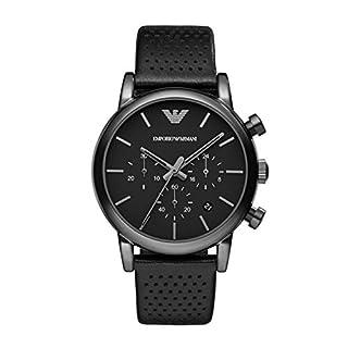 Emporio Armani Reloj Cronógrafo para Hombre de Cuarzo con Correa en Piel AR1737 (B00E49ACGK) | Amazon price tracker / tracking, Amazon price history charts, Amazon price watches, Amazon price drop alerts