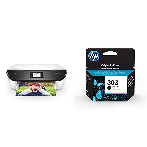 HP Envy Photo 6234 K7S21B, Impresora Multifunción Tinta A4 + 303 T6N02Ae, Negro, Cartucho Original De Tinta